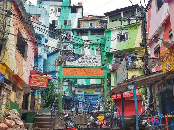 Favela Santa Marta Walking Tour
