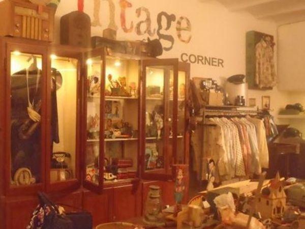 Vintage shop in Born