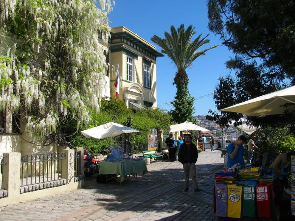 Paseo Gervasoni - Valparaíso