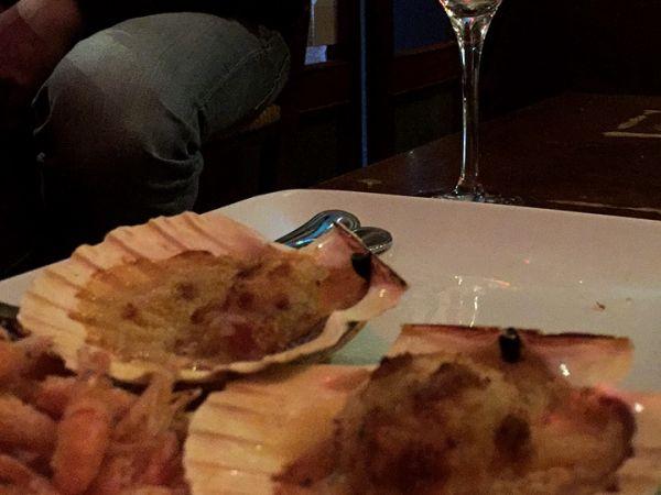 Corte del Orso/crostini di mare