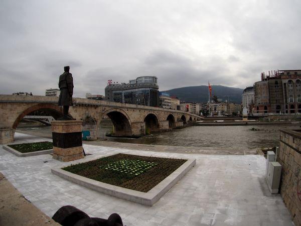 Main Square and Stone Bridge