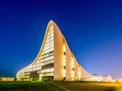 Haydar Aliyev museum and hall