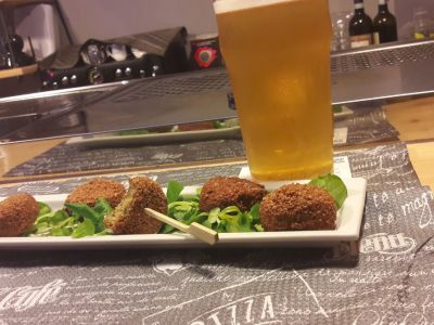 Appetizers + Artisanal Beer