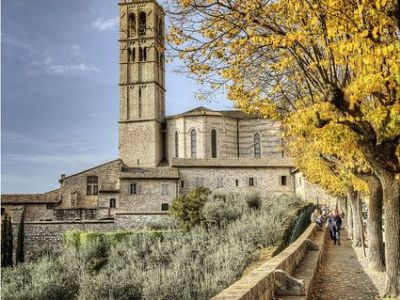 Traveling the Streets of Assisi