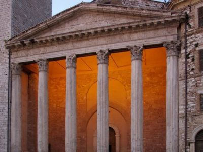 The Roman Temple of Minerva