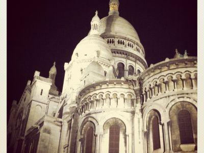 Sacré Coeur by night