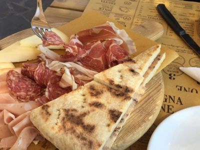 Traditional umbria cold cuts
