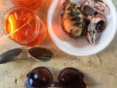 Osteria Ricco Peoc/crostini di mare