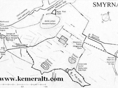 map of kemeraltı