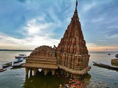Tilted temple -Kashi Karvat
