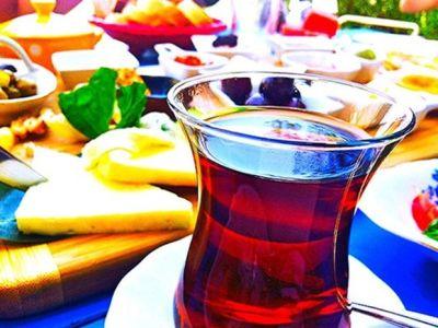 Turkish breakfast at Mola Rooms