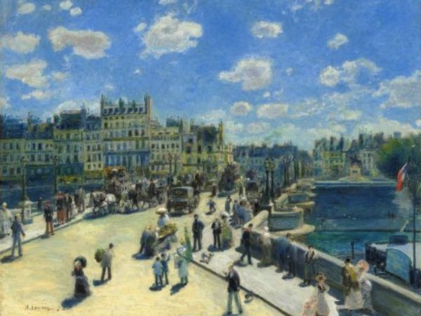 Le pont neuf par Renoir