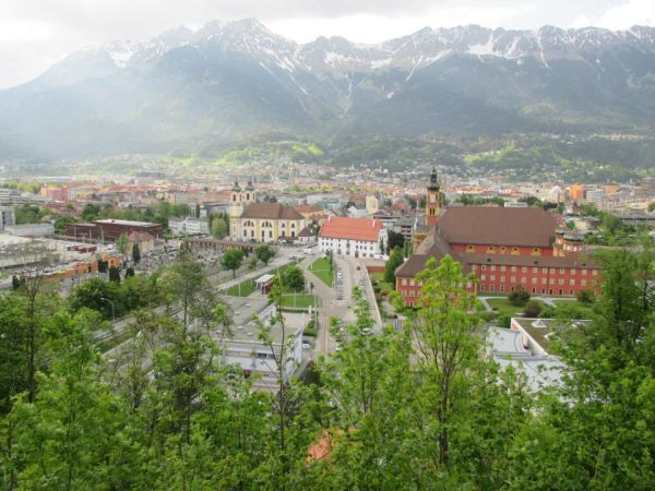 View on Innsbruck