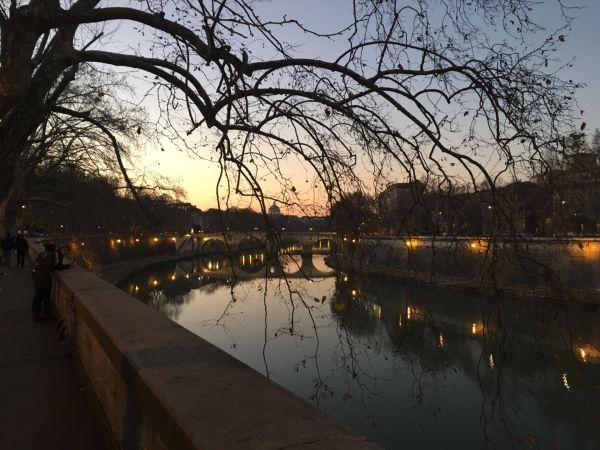 Glance from Trastevere