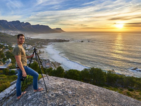 Cape Town City Sunset
