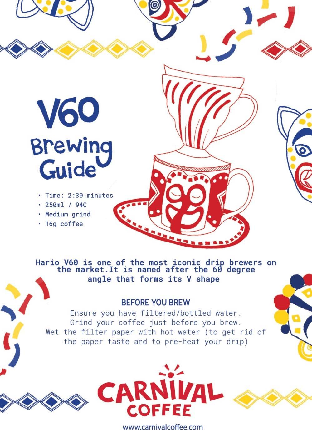 V60 Brewing Guide