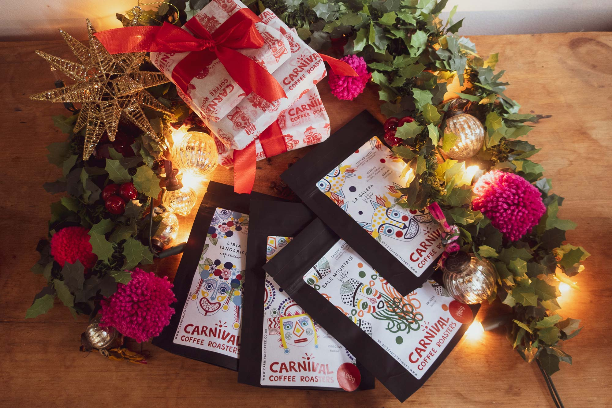 Carnival Coffee for Christmas