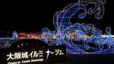 Photo of Hành trình khám phá lịch sử bằng ánh sáng và âm thanh ở thành Osaka