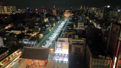 Photo of Cảnh đêm Asakusa từ tầng thượng của Trung tâm văn hoá và du lịch