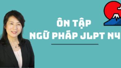 Photo of Ôn tập Ngữ pháp JLPT N4 và bài tập thực hành tại NIPPON★GO