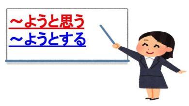 Photo of Phân biệt sự khác nhau giữa ~ようと思う và ~ようとする