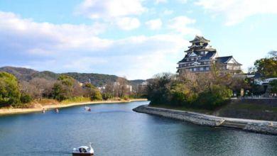 Photo of Thành Okayama, một kiệt tác kiến trúc của tỉnh Okayama