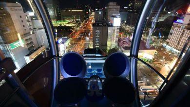 Photo of Sky-Boat  Vòng đu quay biểu tượng của thành phố Nagoya xinh đẹp
