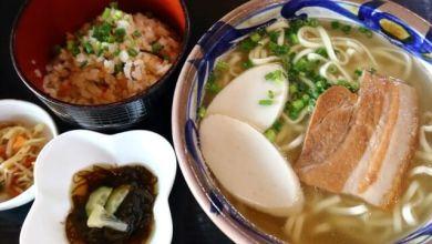 "Photo of Quán soba nổi tiếng ở Okinawa ""Sobe soba"""