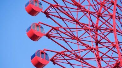 Photo of Đu quay khổng lồ màu đỏ HEP FIVE – biểu tượng của Umeda