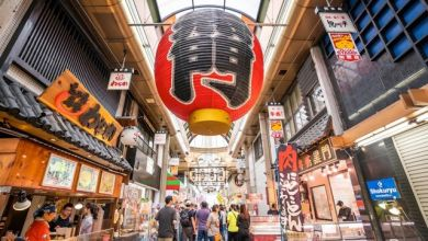 Photo of Điểm đến yêu thích của khách du lịch quốc tế ở Osaka – chợ Kuromon