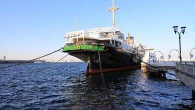 Photo of NYK Hikawamaru – tàu chở khách cỡ lớn tại thành phố cảng Yokohama