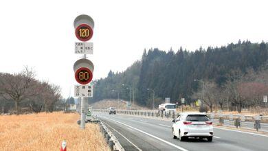 Photo of Đoạn đường đầu tiên ở Nhật Bản cho phép tốc độ tối đa 120km/h