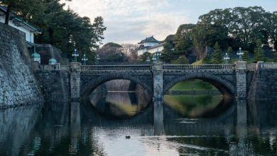Photo of Công khai hình ảnh mới của Hoàng cung Nhật Bản