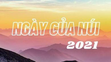 Photo of Ngày của Núi – Yama no Hi của năm 2021 là khi nào?