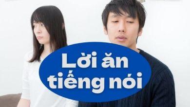 Photo of Học tiếng Nhật qua những răn dạy về lời ăn tiếng nói