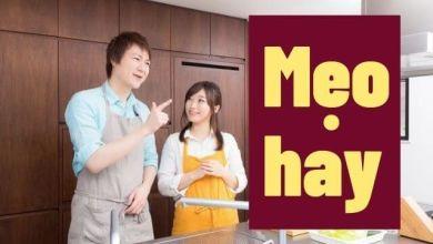 Photo of 9 mẹo cực hay trong nhà bếp của người Nhật