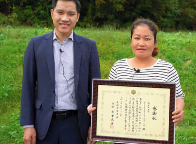 Photo of Nữ thực tập sinh người Việt nhận bằng khen vì hành động hỗ trợ tìm thấy trẻ lạc