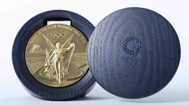 Photo of Thiết kế chính thức của huy chương cho Olympic 2020