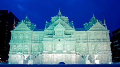 Photo of Lễ hội tuyết Sapporo với các tác phẩm tuyết khổng lồ tại Hokkaido