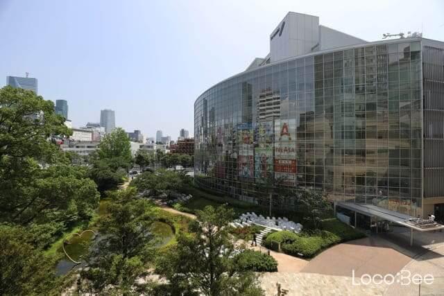 """Photo of Đến thăm đài truyền hình Nhật Bản ở Roppongi """"TV Asahi Atrium"""""""