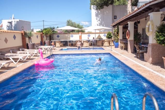 Bright quiet family holiday apartments with pool, ES CANAR – Property Code: CTRAPSAN