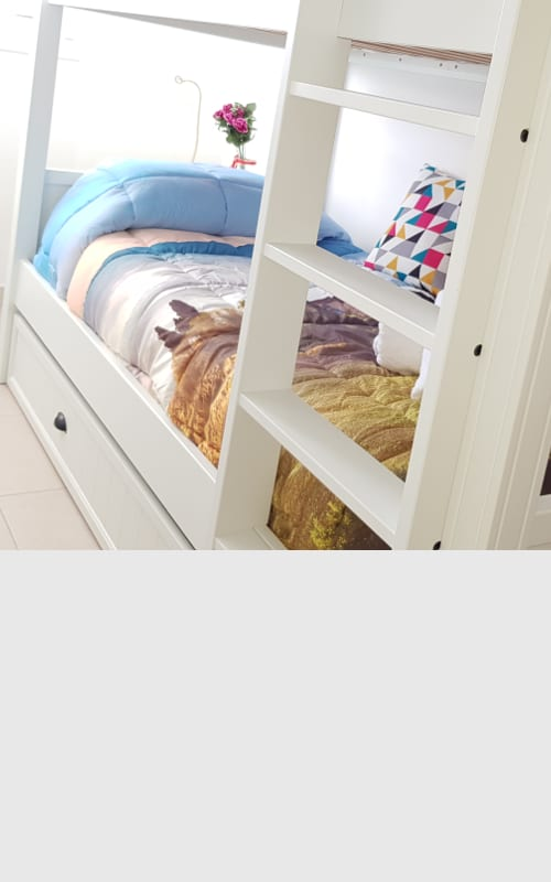 [SA C – DOUBLE ROOM WITH BUNK BED] Leib Rooms San Antonio