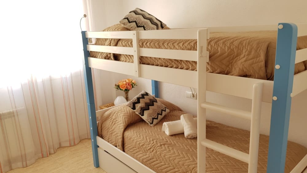 [SE C – DOUBLE ROOM WITH BUNK BED] Leib Rooms Santa Eulalia