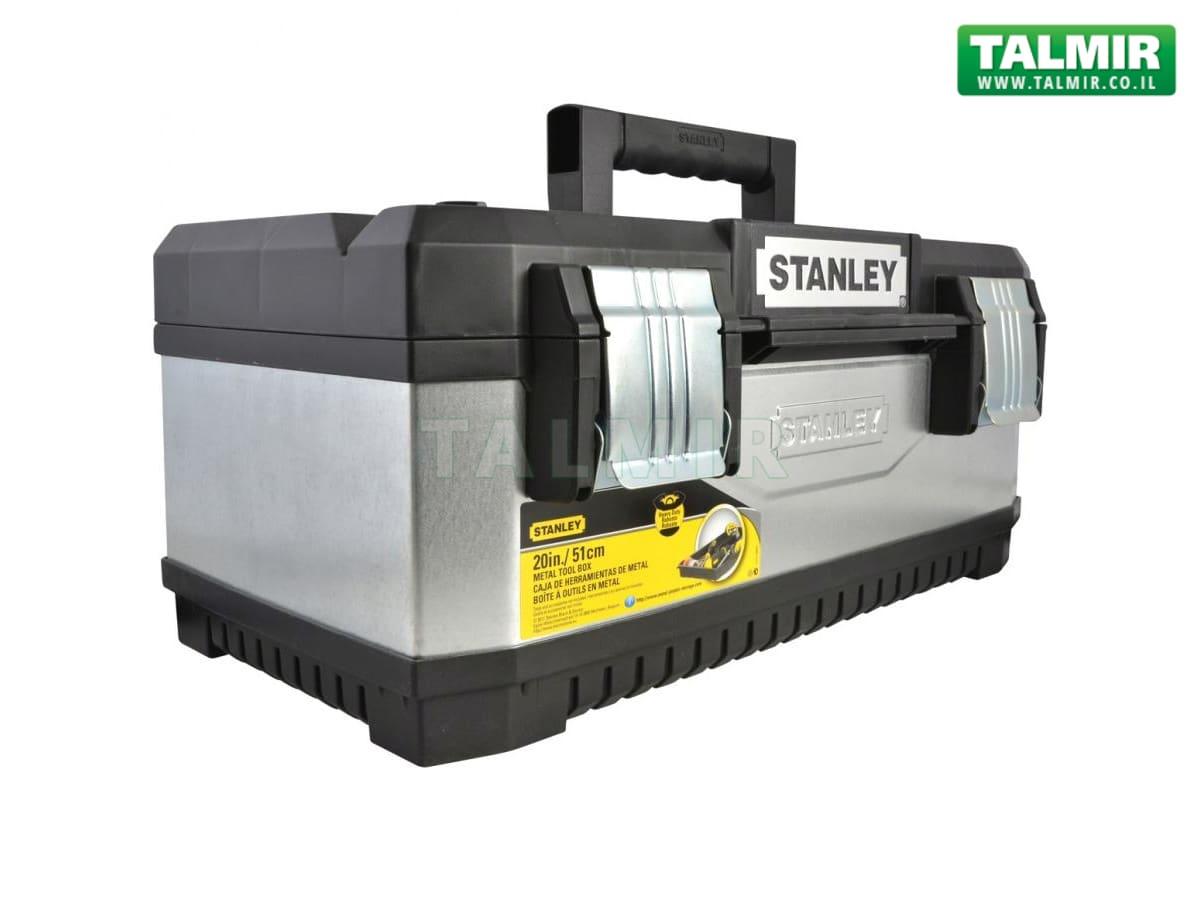 עדכון מעודכן ארגז כלים מקצועי מפלדה מגולוונת - STANLEY 1-95-618 - טלמיר אלקטרוניקה XB-38