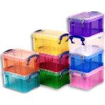 סט 10 קופסאות אחסון צבעוניות 65X85X120MM