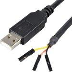 ממיר USB - TTL232 עבור RAPSBERRY PI