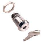 מפסק מנעול ומפתח - DPST - 3POS - MOM/OFF/MOM - 1K/P