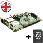 קיט פיתוח - RASPBERRY PI - MODEL B+ - 8GB SD BUNDLE