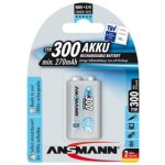 סוללה נטענת - ANSMANN - PP3 - 9V 300MAH - NIMH