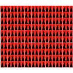 חבילת מדבקות סימון לכרטיסים אלקטרוניים - אדום / שחור